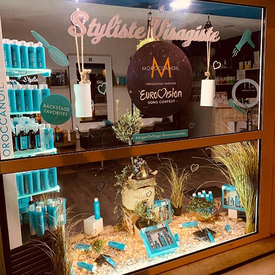 Eurovision Moroccanoil Window Competition